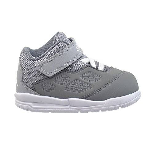 Jordan New School BT Baby Toddlers' Shoes Cool Grey/White-Wolf Grey 768904-011 (5 M US)