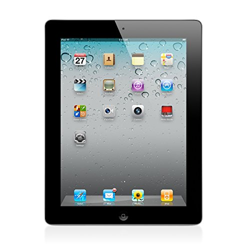 Apple iPad 2 MC916LL/A Tablet (64GB, Wifi, Black) 2nd Generation (Certified Refurbished