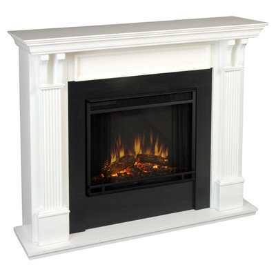 Ashley Electric Fireplace - 7100e (Electric White Fireplace compare prices)