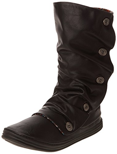 Blowfish - Stivali BF3247 Donna, Nero (Schwarz (Black)), 40