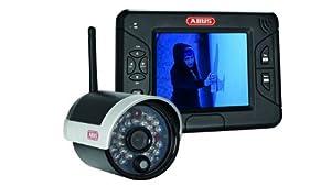 ABUS TVAC15000 8,89cm (3,5) TFTMonitor mit IR FunkAußenkamera 2,4GHz  BaumarktBewertungen und Beschreibung