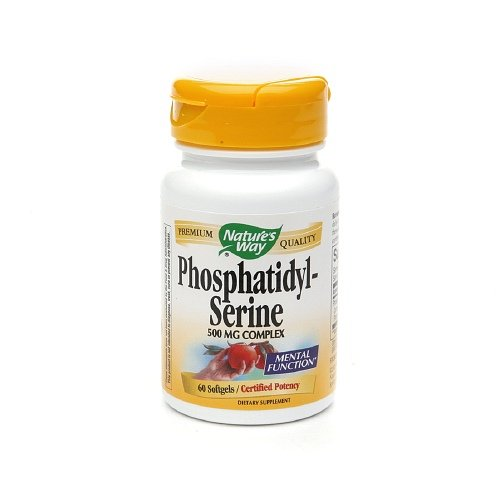 Natures Way Phosphatidyl Serine 500Mg Softgels - 60 Ea, 5 Pack