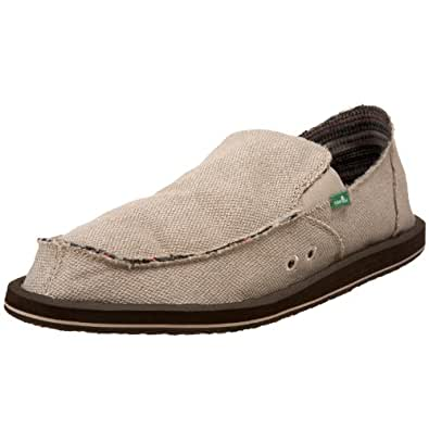 Sanuk Men's Hemp Sidewalk SurferNatural17 M US