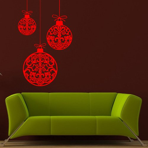 Happy New Year Holiday Decoration Ball Gift Bow