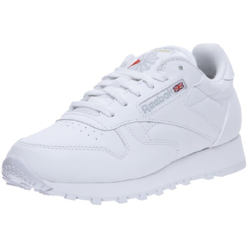 Reebok - Classic leather, Sneaker Donna, Bianco, 38