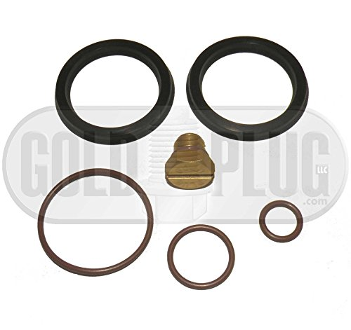 Primer Fuel Filter Seal Rebuild Kit and Bleeder Screw for 2001-2010 GM Duramax Fuel Filter Housing (Fuel Filters Duramax compare prices)