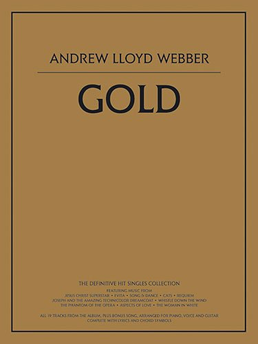 Andrew Lloyd Webber Gold Piano Collection Book (Pvg)