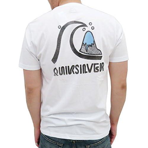 (クイックシルバー) QUIK SILVER Tシャツ メンズ 半袖 オリジナル 3color M ホワイト