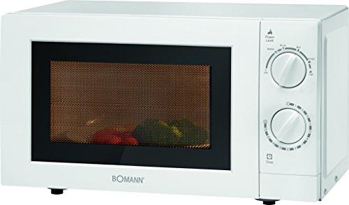 bomann-mw-2288-cb-mikrowelle-700-w-mikrowellenleistung-20-l-garraum-weiss