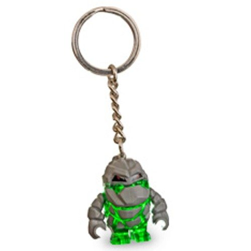 LEGO Green Rock Monster Power Miners Key Chain 852505