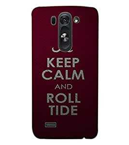 """ColourCraft Quote with Alphabet """"A"""" Design Back Case Cover for LG G3 S"""