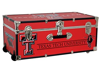 Mercury Seward Trunk Texas Tech University 30-Inch Wheeled Foot Locker by Mercury