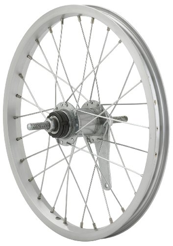 Avenir 28H Alloy 16 Inch x 1.50 Inch Coaster Brake Rear Wheel, Silver