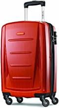 Samsonite Luggage Winfield 2 Fashion 20-Inch Carry-on Spinner, Orange, One Size