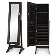 Bellezza� 57″ Mirrored Cabinet Home J…