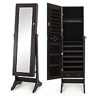 Bellezza� 57″ Mirrored Cabinet Home J…