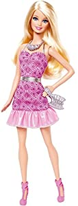 Barbie Fashionistas Party Glam Doll Barbie Pink Dress