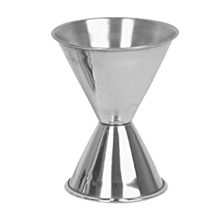 Excellante 1 & 2 Ounce Stainless Steel Jigger
