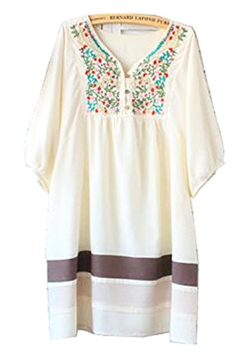 Cool Mexican Dress  Womens  Handmade  Embroidered  Mexico  Dress