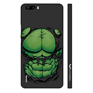 Huawei Honor 6 Plus Big Guys Packs designer mobile hard shell case by Enthopia