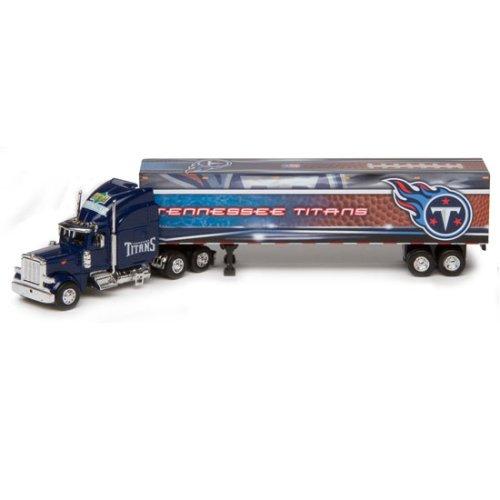 Tennessee Titans Upper Deck Collectibles NFL Peterbilt Tractor-Trailer