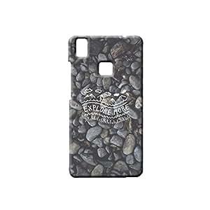 BLUEDIO Designer Printed Back case cover for VIVO V3 - G7546