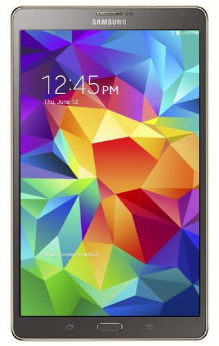 Samsung Galaxy Tab S 8.4-Inch Tablet (16 Gb, Titanium Bronze)