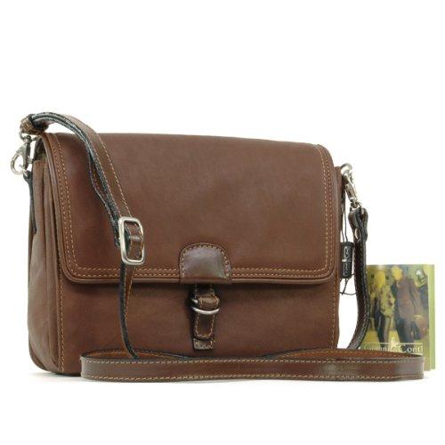 Gianni Conti Cross-Body Bag - Brown