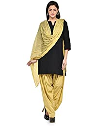 Kismat Collection Women's Pure Cotton Printed Patiala & Duppta Sets (Free Size) - B01L6SGEAY