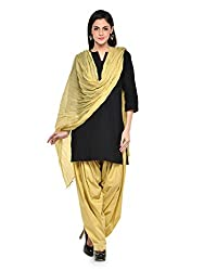 Kismat Collection Women's Pure Cotton Printed Patiala & Duppta Sets (Free Size)