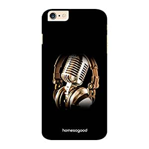 HomeSoGood Musician Profession Black 3D Mobile Case For iPhone 6 Plus (Back Cover)