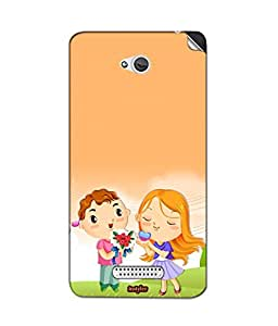 instyler MOBILE STICKER FOR HTC BUTTERFLY S
