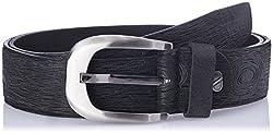 Dandy AW 14 Black Leather Men's Belt (MBLB-308-M)