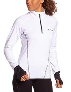 Vaude Livigno Halfzip Veste femme Blanc FR : 42 (Taille Fabricant : 40)