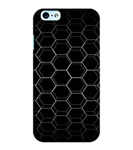 ColourCraft Chamber Design Back Case Cover for APPLE IPHONE 6