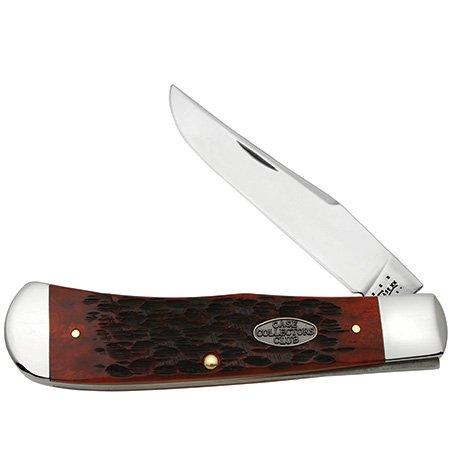Case Xx Knife Item # 27562 Ccc Half Stop Old Red Bone Back Pocket