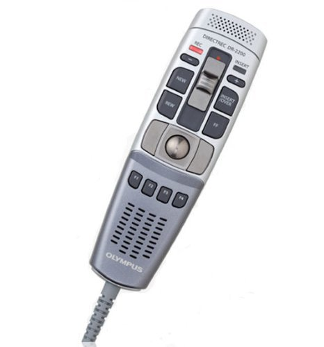 Olympus Dr-2200 Recmic Usb Professional Pc-Dictation Microphone With Slide Switch Operation