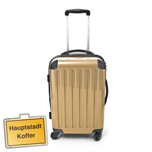 HAUPTSTADTKOFFER® · Hartschalenkoffer CHAMPAGNER