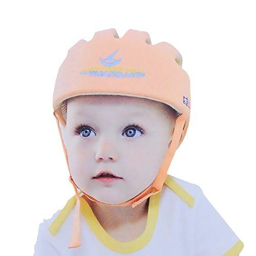 hi8-store-casco-di-sicurezza-regolabile-con-protezione-per-nuca-da-passeggio-colore-arancione