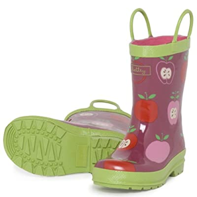 Hatley Nordic Apples Wellington Boots