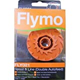Resolute Flymo Spares Flymo Double Spool and Line With Trim [E95971] Cleva G7 Edition