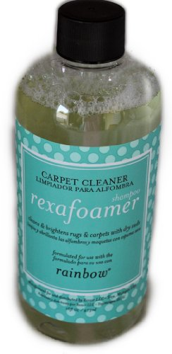Rainbow Rexafoamer Shampoo Carpet Cleaner front-578644