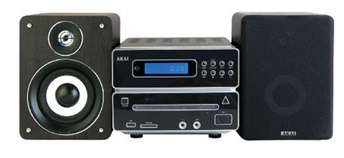 Akai - QX-4690UF - Micro chaine CD/mp3 - 2 x 20 W - USB - Noir