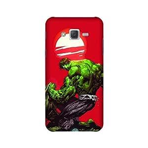 PrintRose Samsung Galaxy J5 2016 back cover - High Quality Designer Case and Covers for Samsung Galaxy J5 2016 Hulk