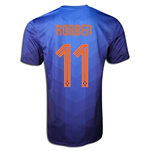 Authentic Nike Arjen Robben #11 Holland Netherlands Dutch 2014 FIFA World Cup Medium... by Nike