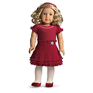 Amazon.com: American Girl Merry & Bright Dress for Dolls (My American