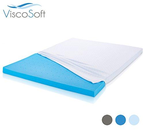 viscosoft cooling gel infused memory foam mattress topper 3 inch king 76 x 80 ebay. Black Bedroom Furniture Sets. Home Design Ideas
