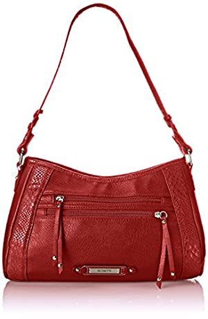 Bolsa Rosetti Swept Away Small Hobo Tote, talla única, color cardinal