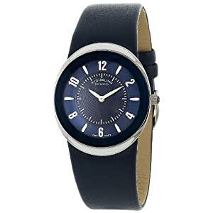 Stuhrling Original Unisex Classic Ascot Movida Swiss Quartz Blue Ultra-Slim Watch 239.3215C6