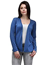 TSX Cotton Women's Blue Shrug